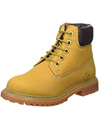Lumberjack River, Bottines Garçon, Yellow/DK Brown