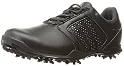 adidas Womens W Adipure Tour Cblack/Sil Golf Shoe, Black, 6 M US