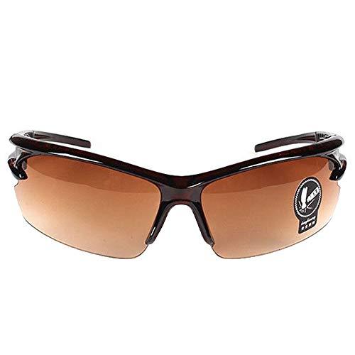 xinzhi Nachtsichtgläser, Uv-Schutzbrillen Sonnenbrillen Sportbrillen Reitbrillen Nachtfahrbrillen - Tee-Ständer Doppelte Tee-Linse