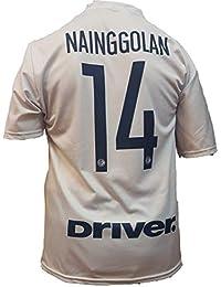 9d2d755d6f040 Tercera Camiseta Jersey Futbol F.C. Inter Radja Nainggolan Replica Oficial  Autorizado 2018-2019 Niños (