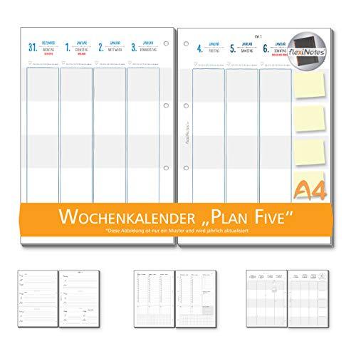 ENDER 2019 A4, Kalendereinlage: Plan5, 1 Woche 2 Seiten ()