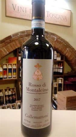 ROSSO DI MONTALCINO DOC 2017 COLLEMATTONI LT.0,750