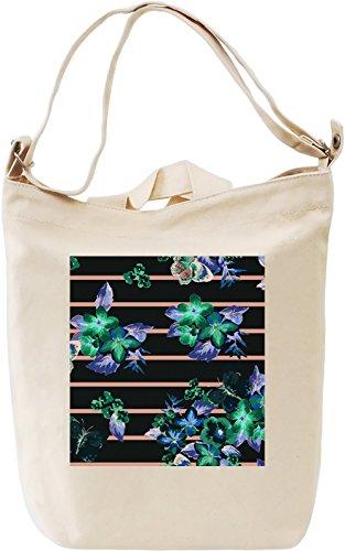 Abstract Print Canvas Day Bag| 100% Premium Cotton Canvas| DTG Printing| Unique Handbags, Briefcases, Sacks & Custom Fashion Accessories For Men & Women