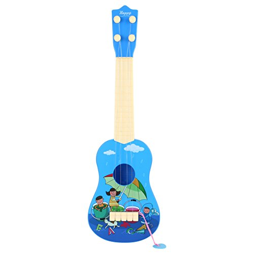 4 Saiten Kinder Mini Gitarre kinderspielzeug Spielzeuggitarre
