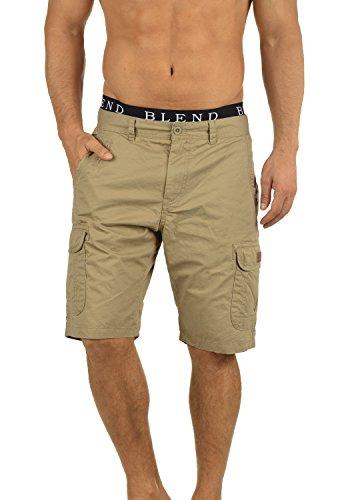 BLEND 20702259ME Crixus Cargo Shorts, Größe:3XL;Farbe:Lead Gray (70036) -