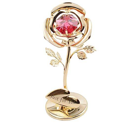 Innenarchitektur Dekoration Geschenk 50th Anniversary Day Ich Liebe Dich Geburtstag Valentinstag Geschenk Romantisches Geschenk Kristallglas, Metall