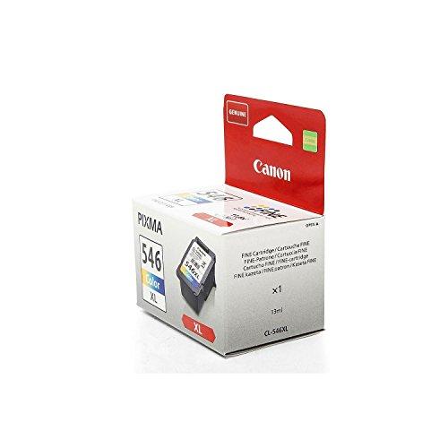 Original Canon 8288B001 / CL-546XL, für Pixma MG 3000 Series Premium Drucker-Patrone, Cyan, Magenta, Gelb, 300 Seiten, 13 ml