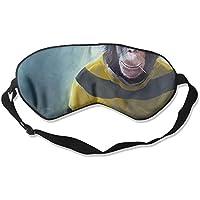 Sleep Eye Mask Chimpanzee Chimp Lightweight Soft Blindfold Adjustable Head Strap Eyeshade Travel Eyepatch preisvergleich bei billige-tabletten.eu