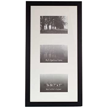 Multi Aperture Frames to Fit 3 Photo\'s - 25mm Black - 7\