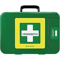 Erste Hilfe Koffer First-Aid-Kits, 300 x 420 x 118 mm, grün preisvergleich bei billige-tabletten.eu