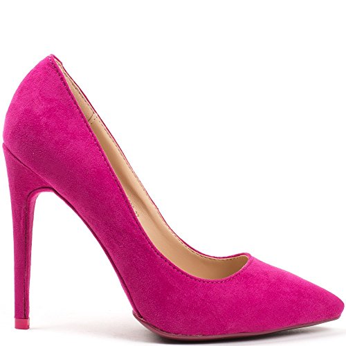 Ideal Shoes ,  Scarpe col tacco donna Fuschia