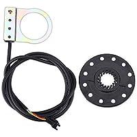 Niunion Sensor de Asistente de Bicicleta eléctrica, imanes Niunion12 E-Bike Sensor de Sistema de Pas Sensor de Velocidad Sensor de Velocidad Mountain Bike Booster 1: 1 Boost