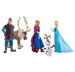 Bullyland Lot de 5 figurines de personnages Disney