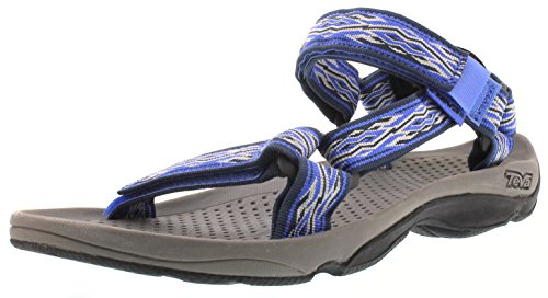 Teva Hurricane 3 M's Herren Sport- & Outdoor Sandalen, Blau (Mad Waves Blue 889), EU 45.5