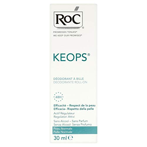 Roc Keops Deod Roll On S/Alc30Ml