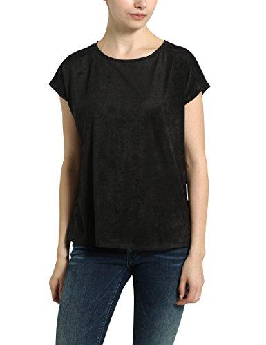 Berydale Damen-Rundhals-Shirt Schwarz (Schwarz)