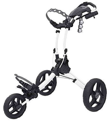 Clicgear Rovic RV1 C Golf-Trolley, CGRV1C-WHT, weiß, Large - Golf Cart Push Sun Mountain Von