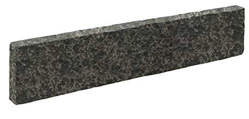 Naturstein Basalt schwarz Palisade 8x20x100cm