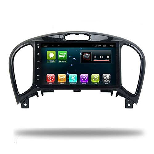 Car Radio GPS Android 8.0 Navigation for Nissan Juke Multimedia Stereo Headunit Auto Video Player in Dash Navi WiFi BT Map (2+32G Android 8.0 for Juke)