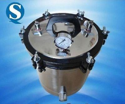 Tatoo Autoklave, 18 l, tragbar, Hochdruck-Dampfsterilisator.