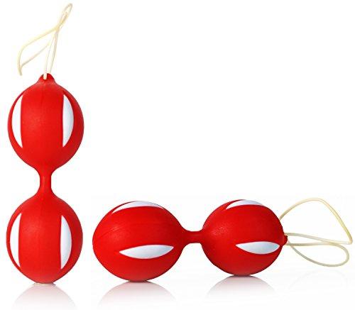 Smartballs Geisha Silikon Liebeskugeln in Feuer Rot