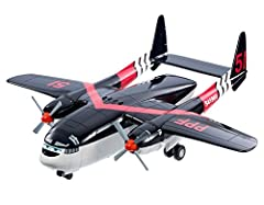 Idea Regalo - Disney - Planes Planes BFM27 - Fire and Rescue Cabbie Trasportatore