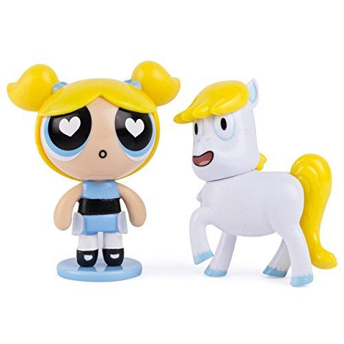 Die Powerpuff Girls Bubbles & Donny Die Einhorn Figur Pack