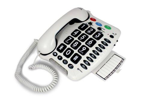 Geemarc CL100 schwerhörigen/schwersehenden Seniorentelefon - einfache Installation - Deutsche Version