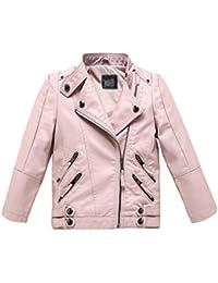 Amazon.it  giacca ecopelle - Bambini e ragazzi  Abbigliamento cd3a0ee796b