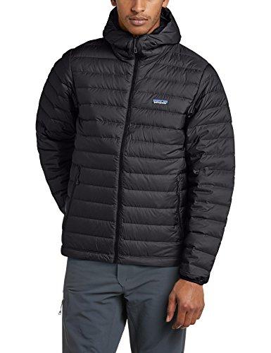 Patagonia Herren Daunenjacke Down Sweater Hoodie Black