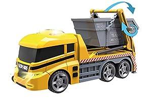 Teamsterz 1416394 Camión Portacontenedor con Luz y Sonidos, 42 cm