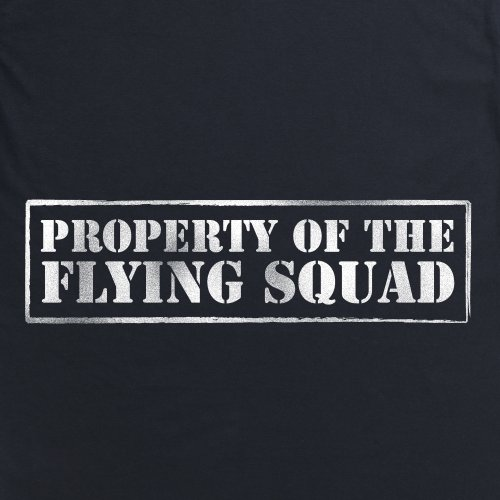Property of The Flying Squad T-Shirt, Herren Schwarz