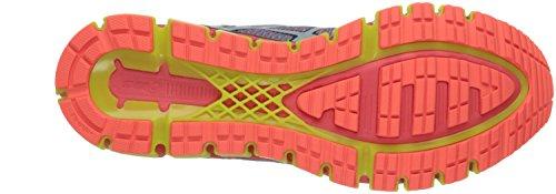 Basket Asics Gel Quantum 360 - Ref. T6G1N-0158 White-Dark Navy-Safety Yellow