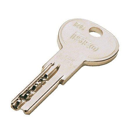Iseo R6 Ersatz-Bohrmuldenschlüssel nach Code (kein Magnetcode)