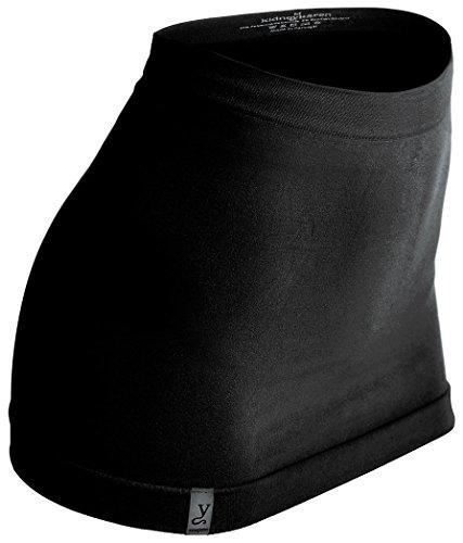 kidneykaren basic tube, Multitube, T-Shirtverlängerung und Nierenwärmer, made in Europe, Öko-Tex-Standard 100, black, XS