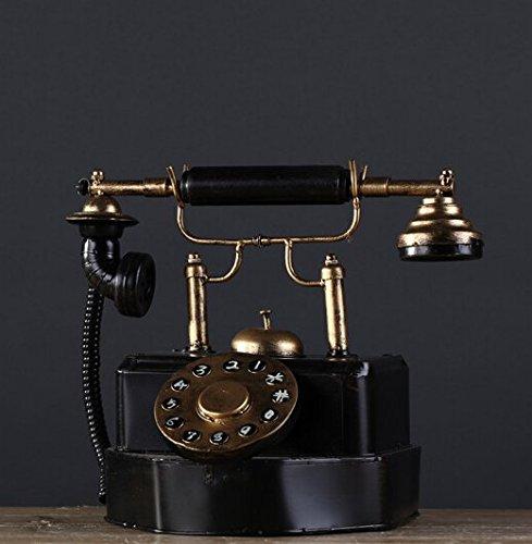Decoresd North American Vintage American eisernen Ornamenten auf Die alte Telefonanlage Modell Ausstattung Modell Zimmer Dekor Vintage Clothing Store Telefon tun