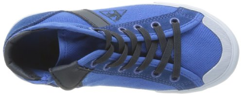 Le Coq Sportif Saint Malo Mid Cotton Pique Ps, Baskets mode mixte enfant Bleu (Olympian Blue)