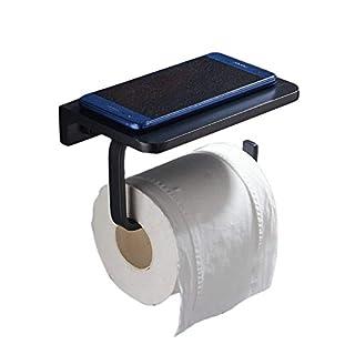Toilettenpapierhalter Black Wc-Rollenhalter Mit Handyhalter,XINYU