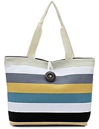 Fulltime(TM) Fashion Lady Shopping Handbag Shoulder Canvas Bag Tote Purse Messenger