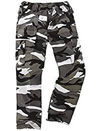 Army and Outdoors 6 Tasche Camouflage Kampf Cargo Hose - Stadt