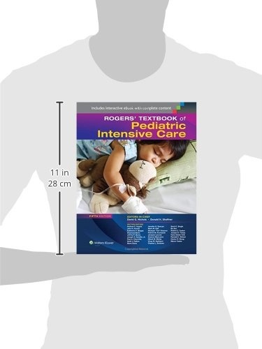 Zoom IMG-1 rogers textbook of pediatric intensive