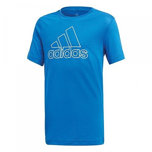 adidas Jungen Training Prime Kurzarm T-Shirt, Blue/White, 110 Preisvergleich