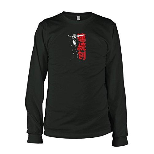 TEXLAB - Fantasy Leonhart - Langarm T-Shirt, Herren, Größe L, - Squall Leonhart Kostüm