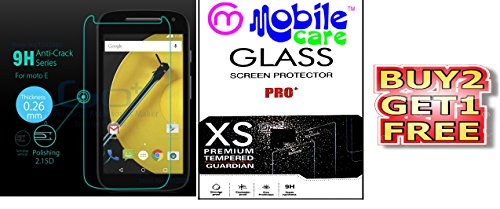 Mobile Care Authentic Curved 2.5D Tempered Glass For Moto E2