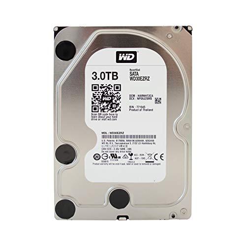 WD Blue WD30EZRZ Interne Festplatte 3TB Desktop (8,9 cm (3,5 Zoll), SATA 6Gb/s) 64MB Cache (Generalüberholt) - Sea Festplatten Gate