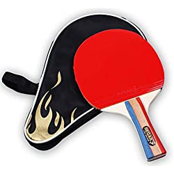 WYFWYF 2019 Version of Table Tennis Bat, New and Updated Expert Bat. ITTF Approved The Best Table Tennis Bat on Amazon.
