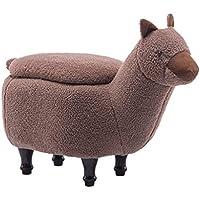 Preisvergleich für MO XIAO BEI Speicher-Schemel-Kleiner Schemel-Änderungs-Schuh-Bank-Schemel Niedriger Schemel-Sofa-Schemel-Fester hölzerner speisender Stuhl-Familie (Farbe : Brown)