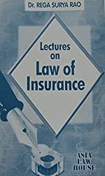 Lectures on Law of Insurance by Rega Surya Rao (2013) Paperback