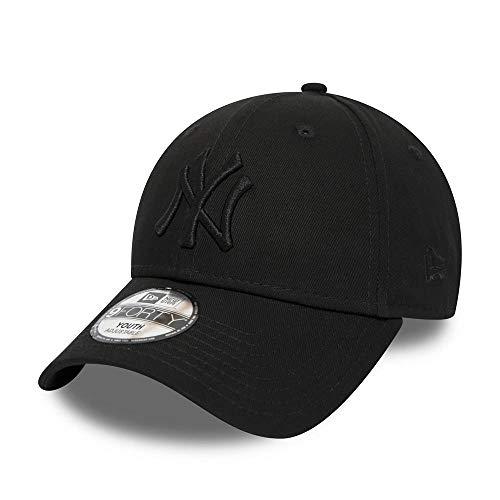 New Era Kids League Essenti 9 Forty Kinder Adjustable Cap NY Yankees Schwarz Schwarz, Size:Youth New York Yankees-kinder-fan