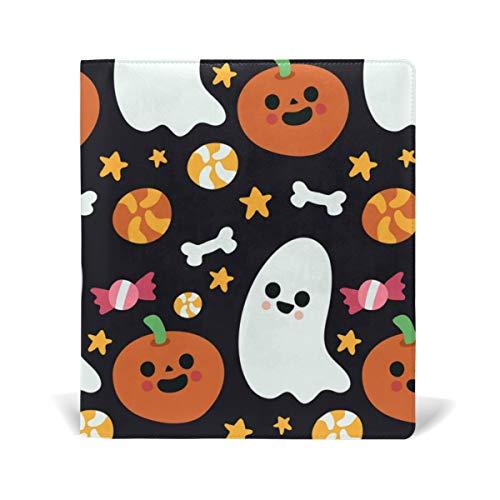 Buchumschläge für Taschenbücher, Buchumschlag Jumbo-Schutzjacke, strapazierfähig, wiederverwendbar, Halloween, Kürbis schwarz